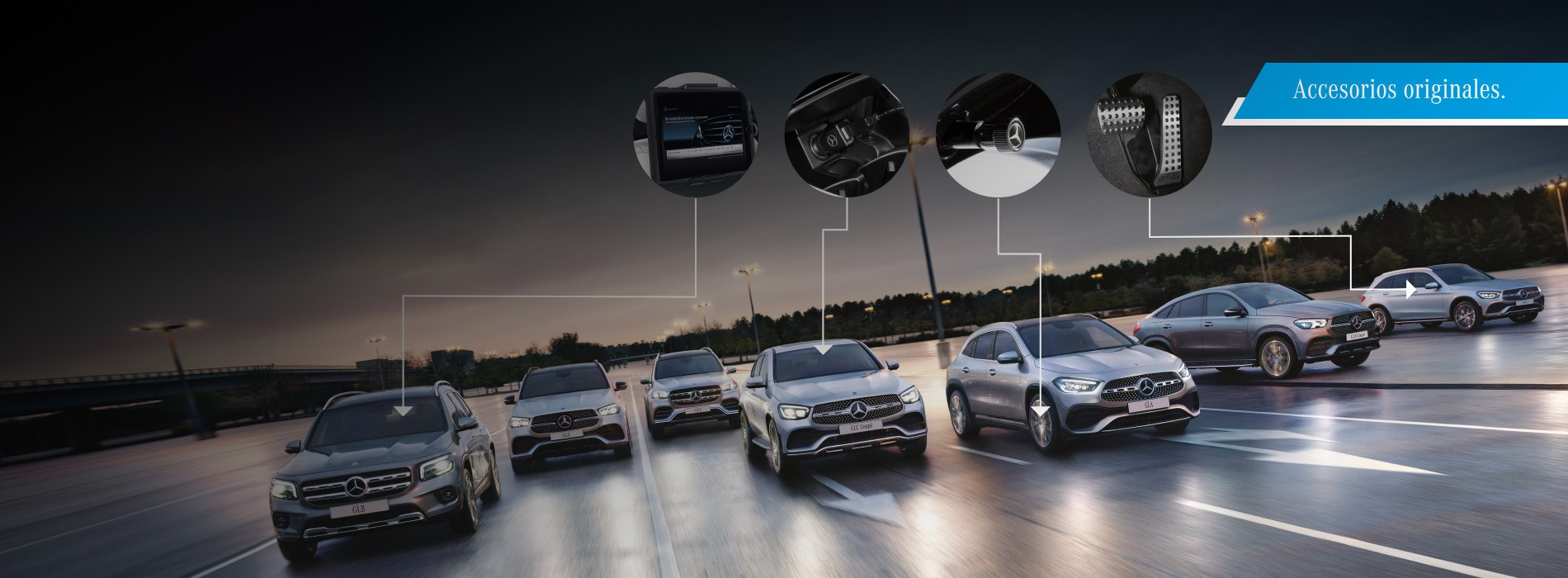 Mercedes-Benz SUVS Accessories