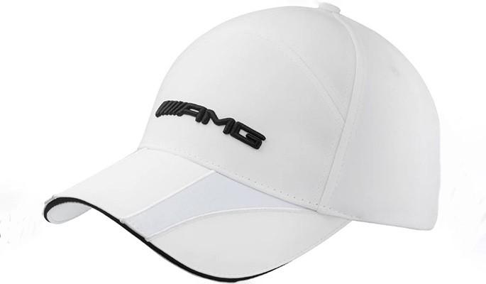 Gorra Blanca AMG Bordado