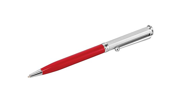 Boligrafo Rojo Metal