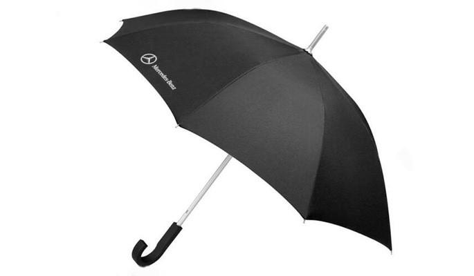 Paraguas negro Mercedes-Benz