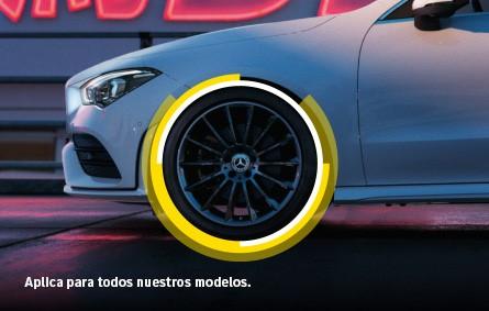 Llantas Pirelli + Rines Mercedes-Benz