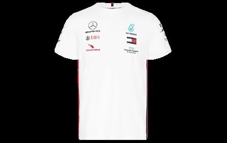 Camiseta F1 blanca