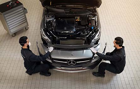 Mercedes- Benz Balanceo