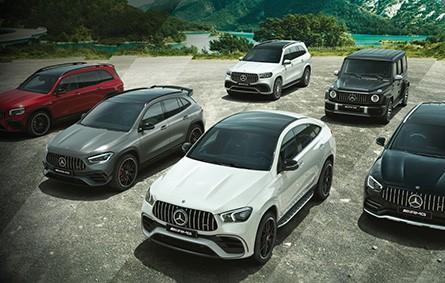 Mercedes-Benz AMG SUVs